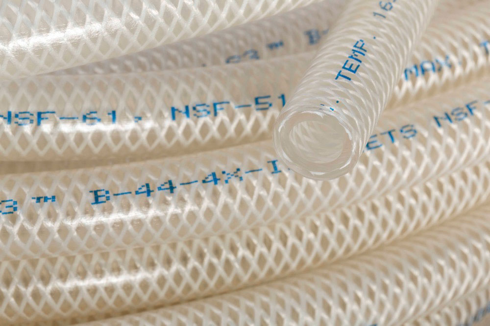 dairy transfer pressure tubing for food and beverage, tygon s3 b-44-4x ib
