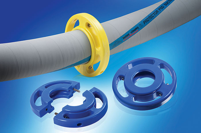 HoseGard for hose support | Saint-Gobain Process Systems