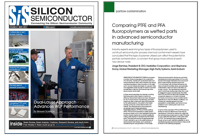 News   A Comparison of PTFE and PFA Fluoropolymers in