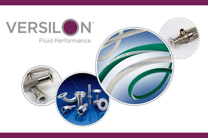 New Versilon™ Fluoropolymer Hose and Fitting Selection Guide