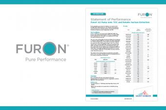 Ionic TOC and Metallic Surface Extraction Performance Report - Furon® A2 Pump