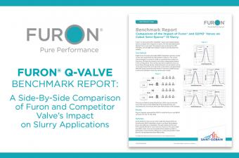Benchmark Report: The impact of Furon Q-Valves in slurry applications