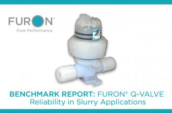 Benchmark Report: Reliability of Furon® Q-Valves in Slurry Applications