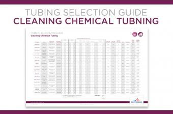 Saint-Gobain's Cleaning Chemical Tubing Selection Guide